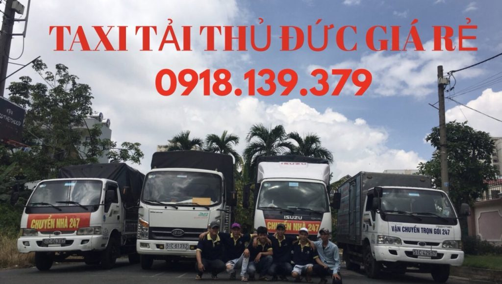 taxi tải thủ đức giá rẻ