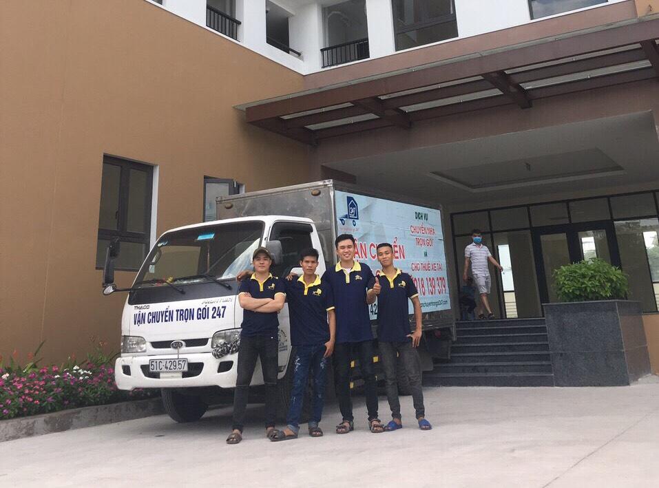 Dịch vụ chuyển nhà quận 2 tại Chung cư