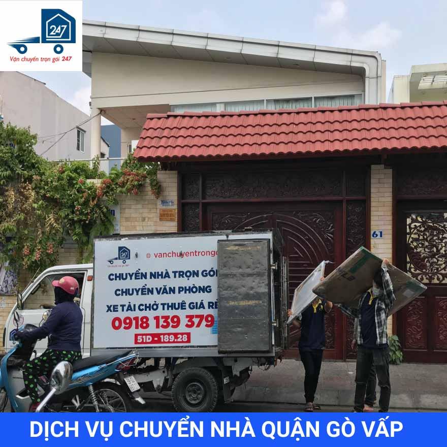 Dịch vụ chuyển nhà trọn gói quận Gò Vấp