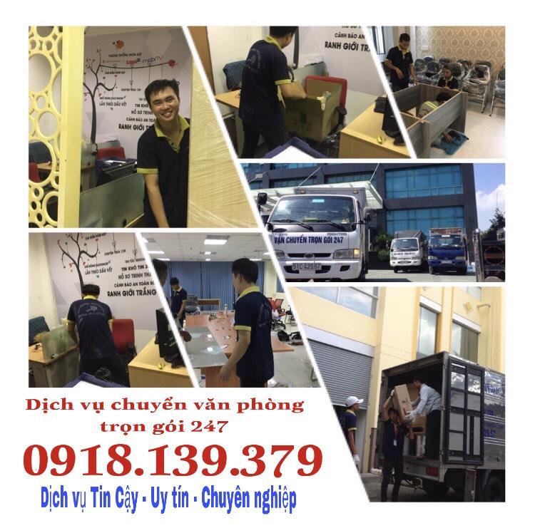 Dịch vụ chuyển văn phòng giá rẻ HCM