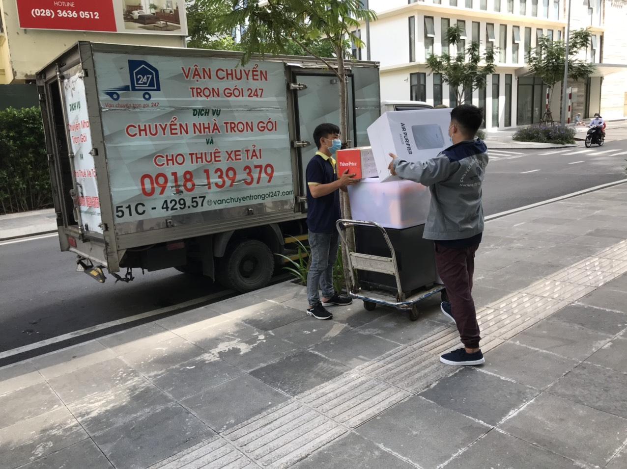 Xe chuyển nhà thủ đức giá rẻ