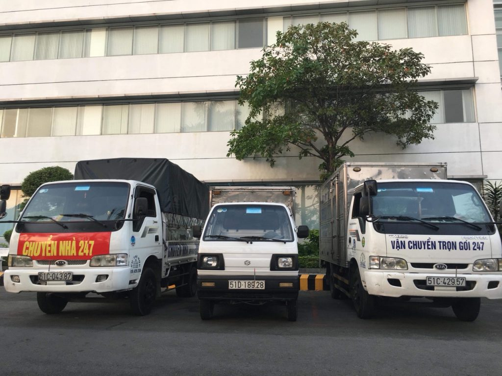 Taxi tải chuyển nhà Quận Gò Vấp giá rẻ từ 500kg-2 Tấn