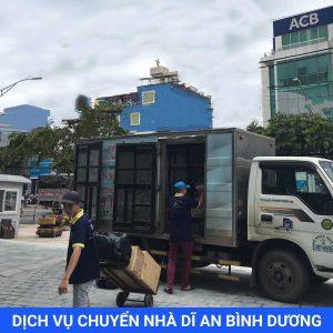 Dịch vụ chuyển nhà trọn gói dĩ an bình dương