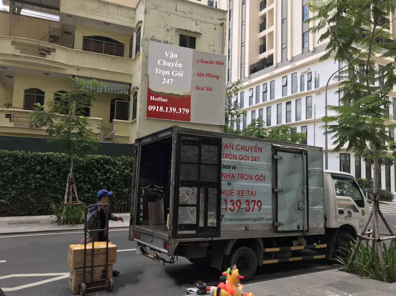 Dịch vụ chuyển nhà trọn gói quận Tân Bình giá rẻ