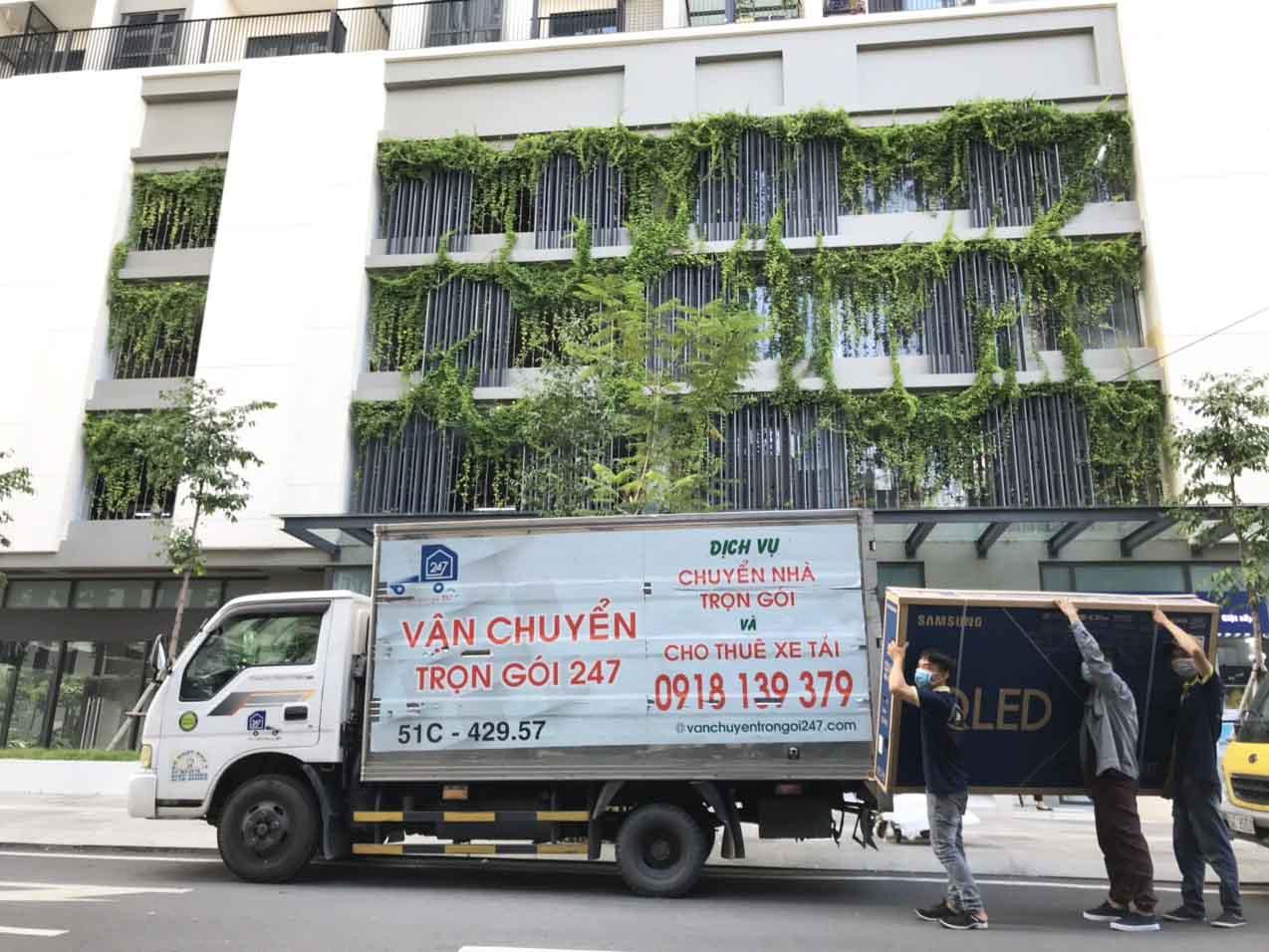 giá dịch vụ chuyển nhà Bình Thạnh HCM giá rẻ