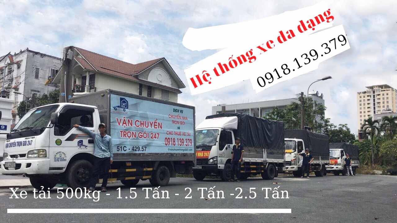 giá thuê xe tải chuyển nhà Bình Thạnh