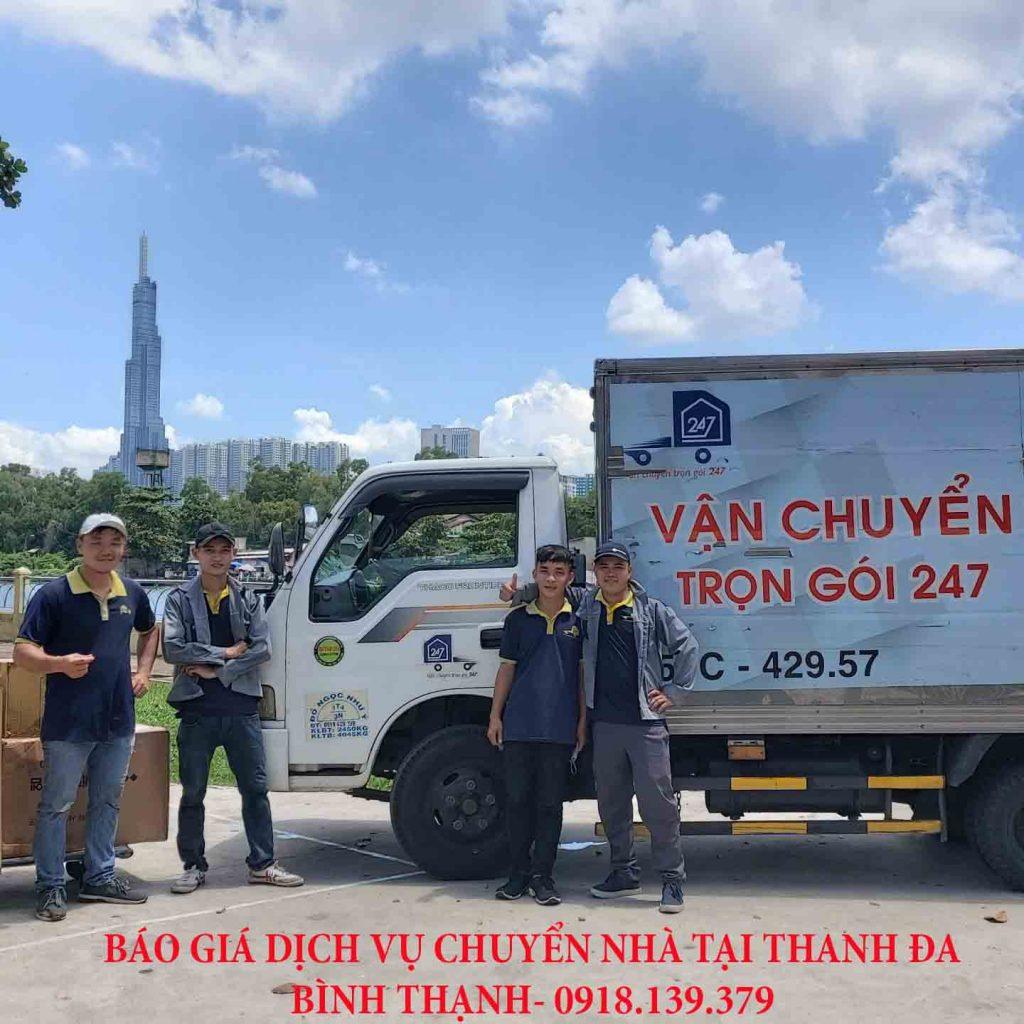 dịch vụ chuyển nhà tại Thanh Đa