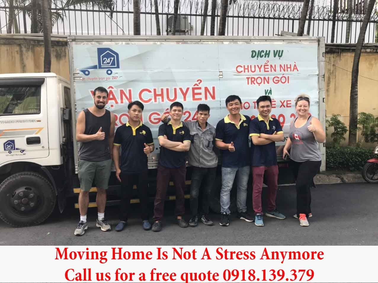 moving home service
