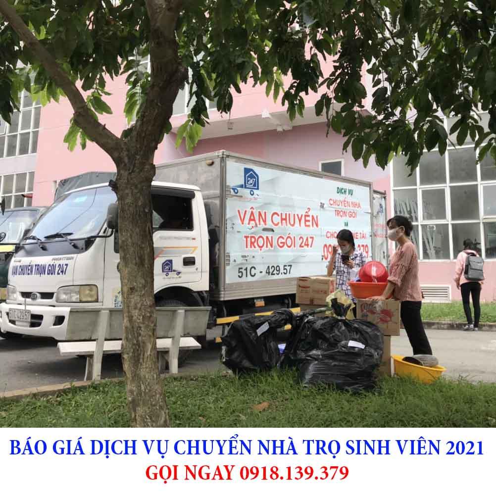 báo giá trọn gói chuyển nhà trọ sinh viên 2021 tphcm