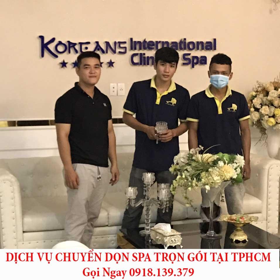 dịch vụ chuyển dọn spa tại tphcm