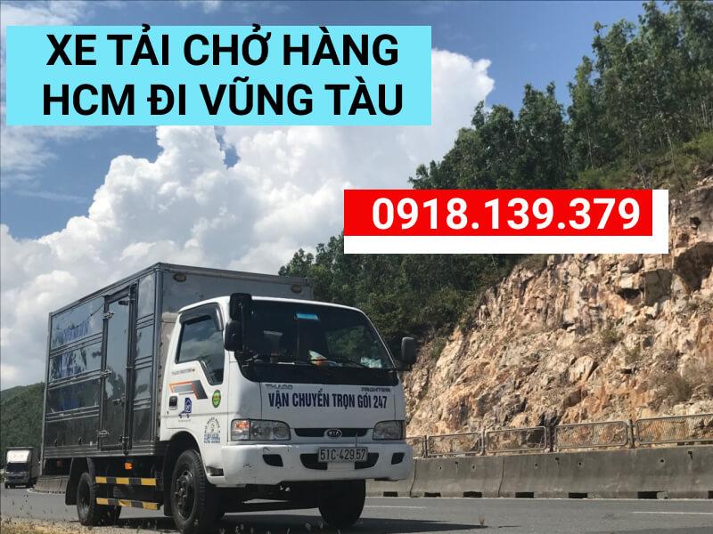 Giá thuê xe tải HCM đi Vũng Tàu