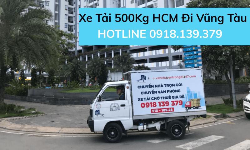 Xe tải 500kg chở hàng HCM đi Vũng Tàu