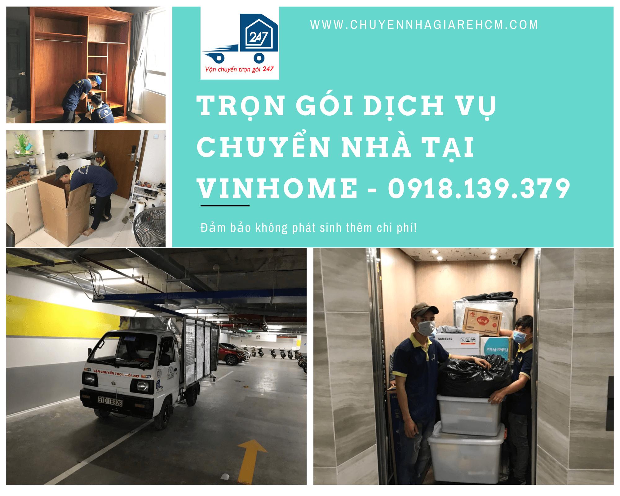 dịch vụ chuyển nhà tại vinhome quận 9